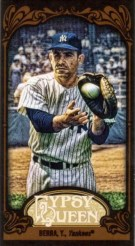 2012 Topps Gypsy Queen Yogi Berra Black Parallel