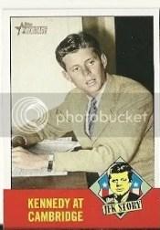 2012 Topps Heritage Baseball JFK Story