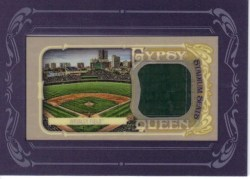 2012 Topps Gypsy Queen Wrigley Field Stadium Seat Relic