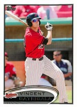 2012 Topps Pro Debut Vincent Catricala
