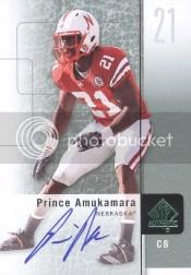 2011 Upper Deck Sp Authentic Prince Amukamara Auto