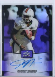 2012 Leaf Metal Draft Jacory Harris Autograph