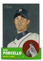 2012 Topps Heritage Rick Porcello Chrome Parallel