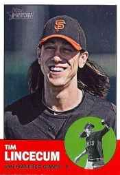 2012 Topps Heritage Tim Lincecum Base Card