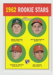 2012 Topps Heritage Card #29 Base Rookie Stars Error Sp