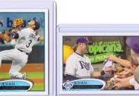 2012 Topps Series 2 Evan Longoria Base Card Variation