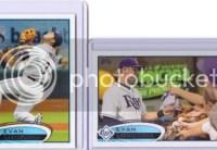 2012 Topps Series 2 Evan Longoria Base Card Variation