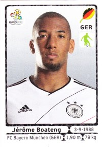 2012 Panini Euro Sickers Jerome Boateng