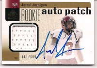 2011 Sp Authentic Jerrel Jernigan Autograph RC /699