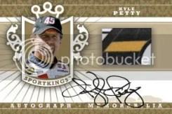 2012 Sportkings Series E Kyle Petty Autograph Memorabilia Card