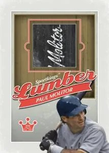 2012 Sportkings Series E Lumber Paul Molitor Card #L-06
