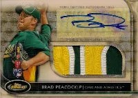 2012 Topps Finest Brad Peacock Superfractor
