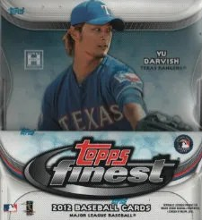 2012 Topps Finest Baseball Box