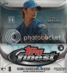 2012 Topps Finest Baseball Box