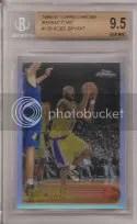 1996-97 Topps Chrome Kobe Bryant RC