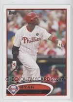 2012 Topps S1 Ryan Howard Base