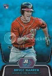 2012 Bowman Platinum Bryce Harper /499