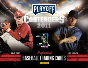 201 Panini Contenders Baseball Sell Sheet