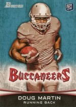 2012 Bowman Doug Martin RC Variation