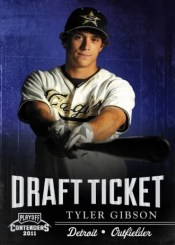 2011 Panini Contenders Tyler Gibson Draft Ticket