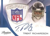 2012 Panini Father's Day Prestige Trent Richardson Patch