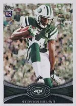 2012 Topps Stephen Hill Rookie Variation Sp