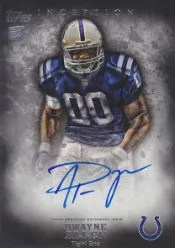 2012 Topps Inception Dwayne Allen Autograph RC