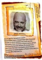 2012 Topps Allen Ginter Code Card Andy Modell