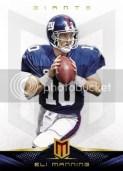 2012 Panini Momentum Eli Manning Base Card