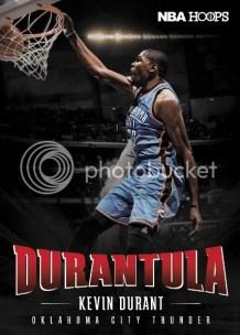 2012-13 NBA Hoops Durantula Kevin Durant Rare Insert Card