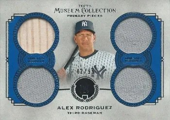 2013 Topps Museum Collection Primary Pieces Alex Rodriguez