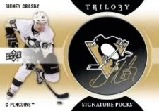 2013-14 Trilogy Signature Puck