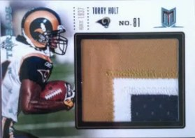 2012 Panini Momentum Team Threads Patches Torry Holt Jumbo #/10