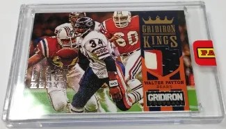 2013 Panini Black Box Gridiron Kings Walter Payton