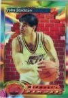 1993-94 Topps Finest Basketball #117 John Stockton