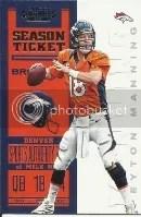 2012 Panini Contenders Peyton Manning Base