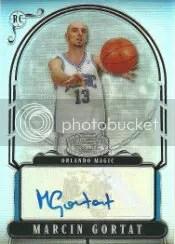 2007-08 Bowman Sterling #MG Marcin Gortat Autograph RC