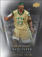 2011-12 Upper Deck Exquisite LeBron James Base Card