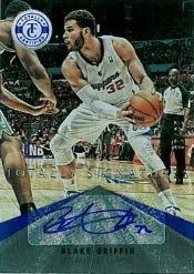 2012-13 Panini Totally Certified Blake Griffin Blue Autograph