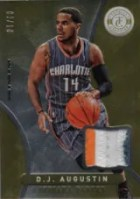 2012-13 Panini Totally Certified D.J. Augustin Gold Prime Jersey Card