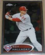 2012 Topps Chrome Roy Halladay SP Photo Variation