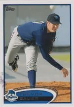 2012 Topps Pro Debut SP Photo Variation #100 Trevor Bauer