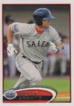 2012 Topps Pro Debut SP Photo Variation #103 Bryce Brentz