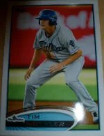2012 Topps Pro Debut SP Photo Variation #108 Tim Wheeler