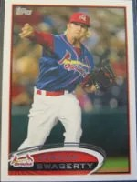 2012 Topps Pro Debut SP Photo Variation #158 Jordan Swagerty