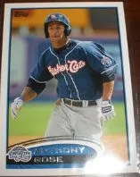 2012 Topps Pro Debut SP Photo Variation Anthony Gose