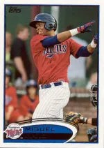 2012 Topps Pro Debut SP Photo Variation #64 Miguel Sano