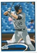 2012 Topps Pro Debut SP Photo Variation #76 Nick Castellanos