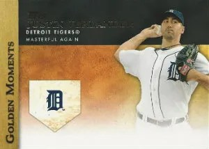 2012 Topps Update Golden Moments Justin Verlander