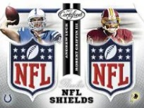 2012 Certified Football Dual Shields